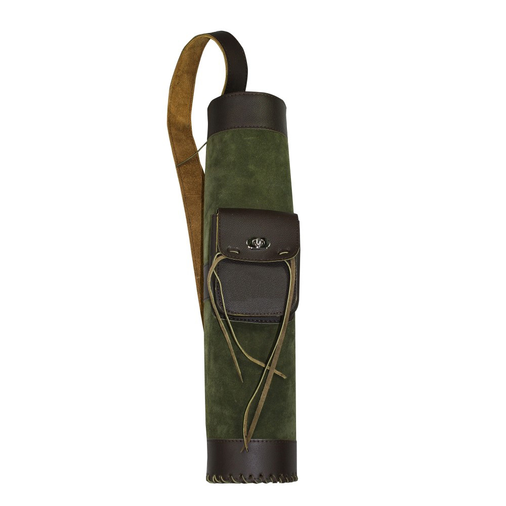 elTORO Back Quiver Big Tube 1 With Patch Pocket